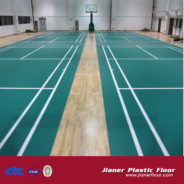 Badminton Court Flooring Pvc Sports Flooring