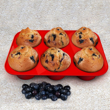 Hot Selling Eco-friendly Cupcake Designs Muffin Cups Silicone Baking Pan