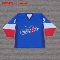 custom design goalkeeper jersey sports hockey shirts