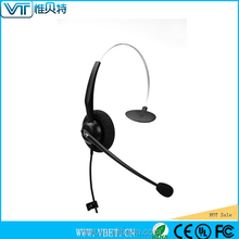 2 way radio wireless headset for call center QD-Y Training