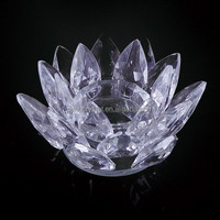 crystal lotus wholesale church candle MH-013