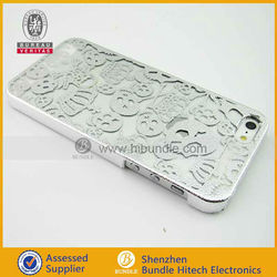 wholesale phone case For iphone5 skull case chrome skeleton case