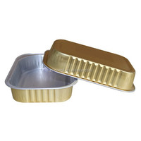 Smooth Wall Aluminium Foil Food Container for Airline/Pet/Jelly/Cake/Coffee