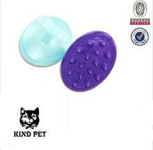 2015 pet brush dog bath shampoo hair comb massage brush