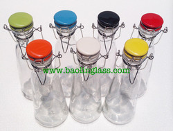 drinking water glass bottle in private label ////BPA Free Borosilicate Glass Novelty Heat-Resistant Glass-Cup