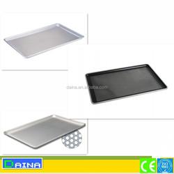 non stick perforated baking pan/ bun baking tray