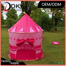 Princess Castle or Fort Pop Up Toy Playing Tent Play House for Children DKK-E004