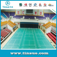 Indoor durable PVC badminton sports flooring