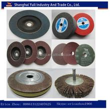 wood sanding flap wheels/sanding rubber wheel