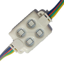 waterproof IP65 4 leds injection RGB module