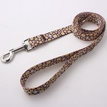 fashion pet leash printed logo no minimum order high quality free sample