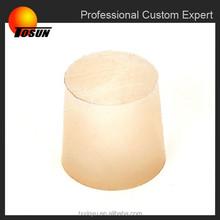 Wholesale Food Grade alkaline resistance EPDM Custom Size Bottle rubber plugs