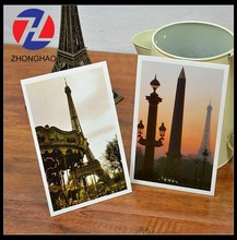 2015 New Arrived craft decorative make town and building design world postcard
