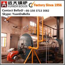 atmospheric / under pressure gas fuel fired vapor vapour generator