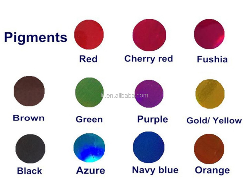 Colorful pigment poudre pour chrome pulv risation peinture or argent rouge bl - Comment faire du bleu en peinture ...