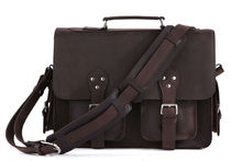 7145R Genuine Crazy Horse Leather Travel Leather Bags Luggage