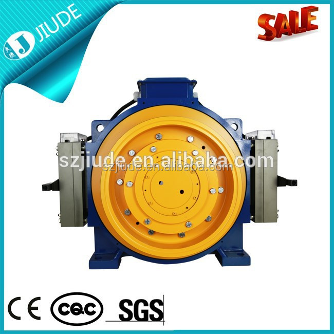Gearless Motor Electric Elevator Motor Gearless Traction