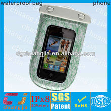 2014 new design pvc universal eco-friendly waterproof bag for mobile phone