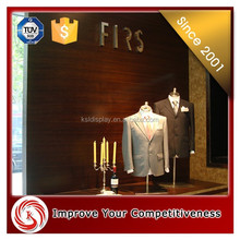floor display cabinet for T-shirt and trousers/clothing store/display cabinet/showcases