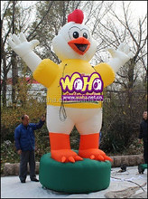 Inflatable cartoon character/inflatable ROOSTER for advertising --4M