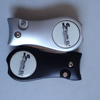 High quality Black switchblade Action golf divot tool with ball marker