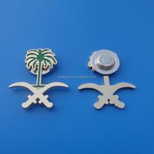 2015 SaudI arabia national day flag magnet pin badge
