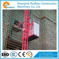 SC200/200 2000kg construction lifting equipment hoisting construction elevator