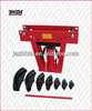 Heavy Duty 16 Ton Hydraulic Manual Pipe Bender W/ 8 Dies