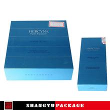 2015 Design 2014 hot selling custom printing plastic cosmetic eye lash lip stick foldable box