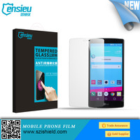 High definition and High Transparent mobile phone screen guard for LG G4