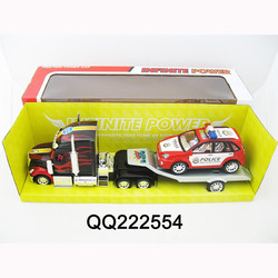 Kids Friction car with 1pcs friction police car 2 color red and blue ,friction car for kids