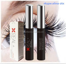 Safe to use Real+ eyelash growth serum increasing length and density by as much as 72% in a few weeks