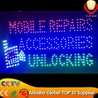 Mobile reparing wholesale open led sign alibaba express new innovation factory direct customized allowed