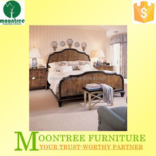 Moontree MBD-1138 solid wooden king size bed frames