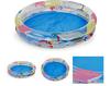 Two ring cartoon inflatable swim pool