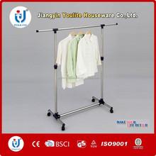 capa para rack de roupas em torno de giro cremalheira da roupa