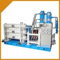 Portable natural gas compressors