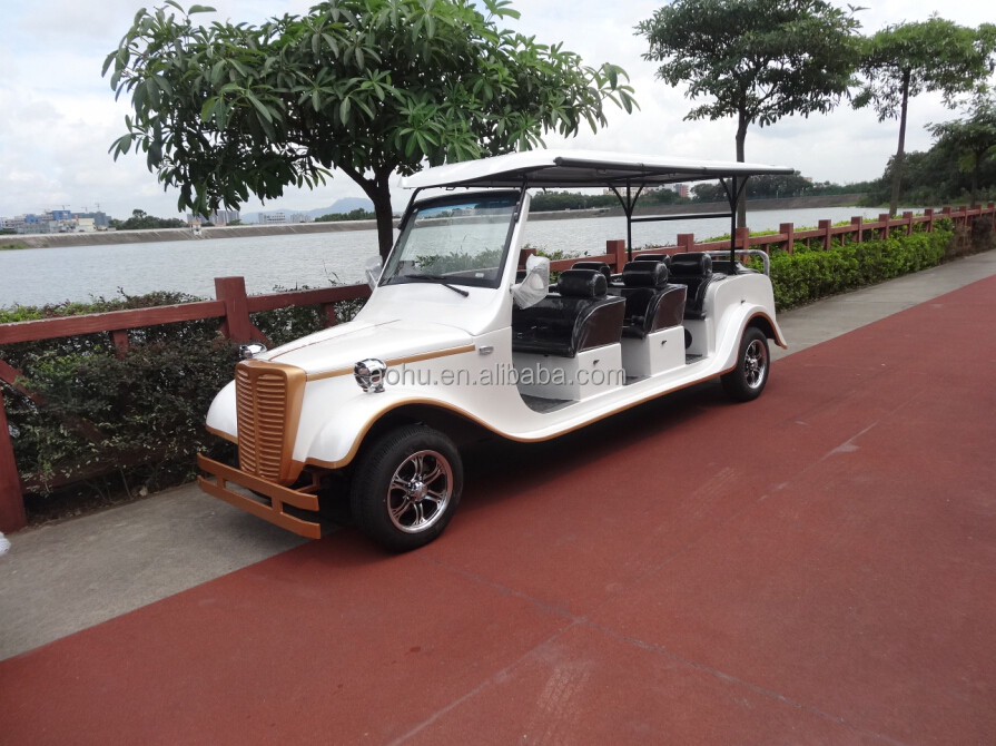 2015 New 8 Seats Antique Electric Golf Cart & Classical Car( AH-LX08 ) with CE