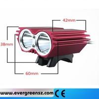 8.4 V 2T6-01 3000 lumen LED bike Flashlight Bike Lamp Bicycle led Light