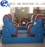 Self aligning welding rotator welding roller stand from ABK