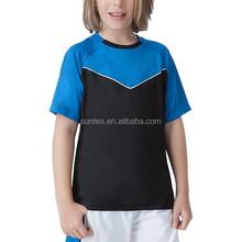 Suntexออกกำลังกายสำหรับเด็กเสื้อผ้าแห้งอย่างรวดเร็ว86%โพลีเอสเตอร์14%แปนเด็กเด็กเสื้อผ้ากีฬา