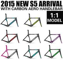 2015 new model carbon road bikes costelo S5 frame ud/3k 700c road bike frame carbon bicycle frameset T1000 carbon fiber bike