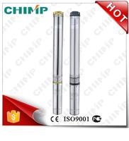 """CHIMP 100QJ(D)2 1HP 4"""" High performance Submersible Stainless steel Centrifugal Deep Well Water Pumps"""
