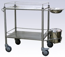 SS dressing trolley medical equipment india