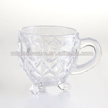 6oz clear coffee cup turkey tea cup water glass ware