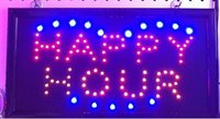 colorful led sign board storefront letter 25*48cm OEM led sign