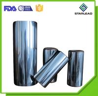 Thin aluminum evaporating coated film metalized PET polyester film for lamination