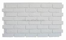 Pu mattoni finti, pannello murale impermeabile, interno o esterno faux mattoni