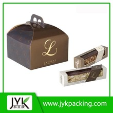 Custom printed paper packaging box,corrugated carton box, shipping boxes wholesale with logo silver hot stamping