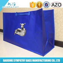 China supplier hot sell pictures printing pp laminated non woven shopping bag